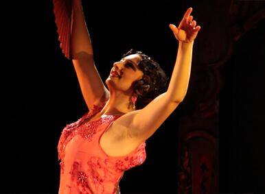 Raquel Valencia. Actor de Teatro Tribueñe