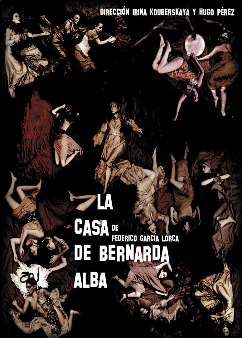 Cartel de la obra La casa de Bernarda Alba
