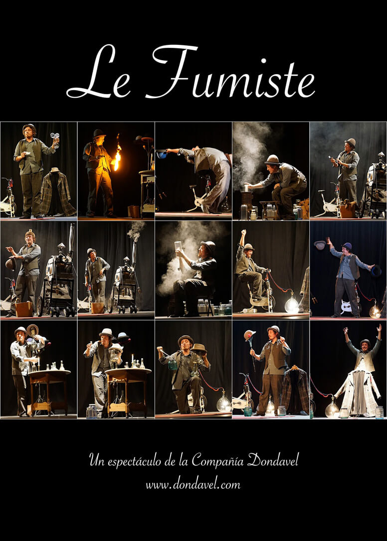 Cartel de la obra Le Fumiste