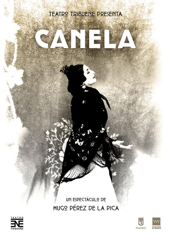 Cartel de la obra Canela